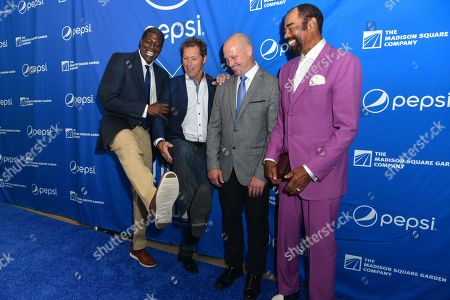 Larry Johnson, Mike Richter, Adam Graves, Walt Frazier