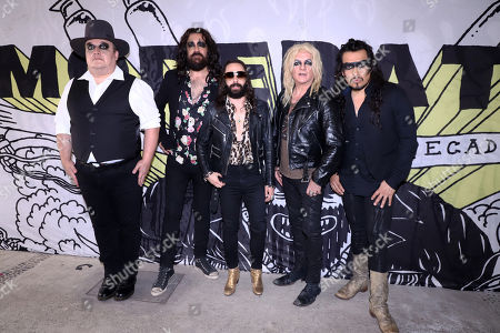 Stock Image of Moderatto: Jay de la Cueva, Elohim Corona, Inaki Vasquez, Javier El Cha Ramirez, Marcello Lara