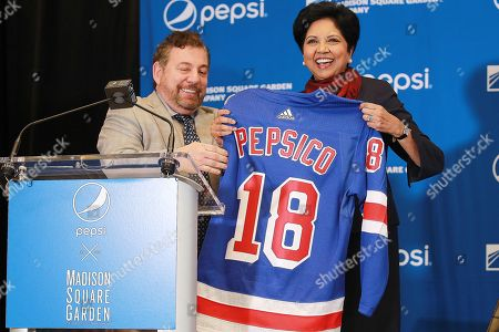 Editorial image of The Madison Square Garden Company Announces a new Marketing Partnership with Pepsico, New York, USA - 24 Jul 2018