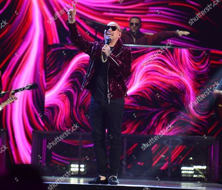 Jacob Forever performs on stage at Univision's Premios Juventud 2018 at Watsco Center