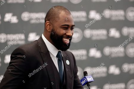 Editorial photo of Revis Retires Football, Florham Park, USA - 24 Jul 2018