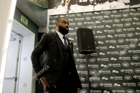 Editorial picture of Revis Retires Football, Florham Park, USA - 24 Jul 2018