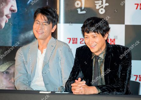 Jung Woo-sung and Gang Dong-Won