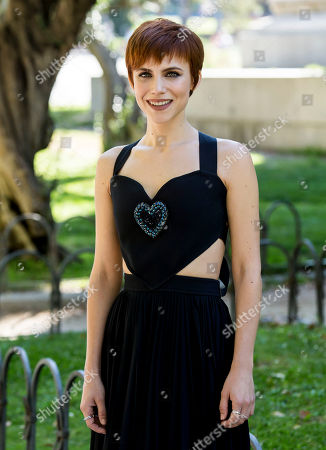 Actress Aura Garrido