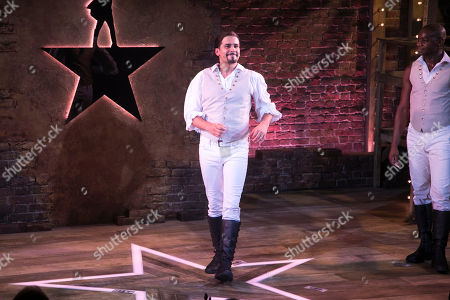 Liam Tamne (Cast) during the curtain call