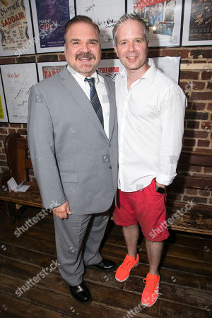 Gerard Alessandrini (Author/Director) and Damian Humbley (Cast)