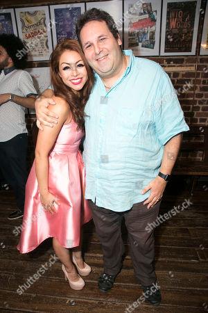 Julie Yammanee (Cast) and David Babani (Artistic Director)