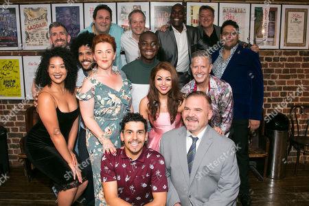 Editorial image of 'Spamilton' party, Press Night, London, UK - 24 Jul 2018