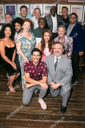 Esme Laudat (Cover), Simon Beck (Musical Director), Jason Denton (Cast), David Babani (Artistic Director), Sophie-Louise Dann (Cast), Liam Tamne (Cast), Damian Humbley (Cast), Eddie Elliott (Cast), Julie Yammanee (Cast), Gerry McIntyre (Choreographer), Gerard Alessandrini (Author/Director), Fred Barton (Musical Arranger), John Freedson (Associate Producer) and Marc Akinfolarin (Cast)