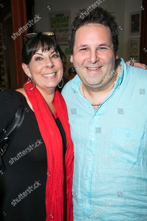 Christine Pedi (Associate Producer) and David Babani (Artistic Director)