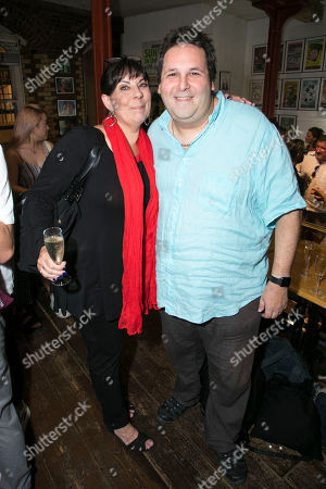 Stock Photo of Christine Pedi (Associate Producer) and David Babani (Artistic Director)