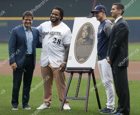 Editorial image of Nationals Brewers Baseball, Milwaukee, USA - 24 Jul 2018