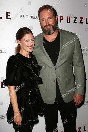Kelly Macdonald and David Denman