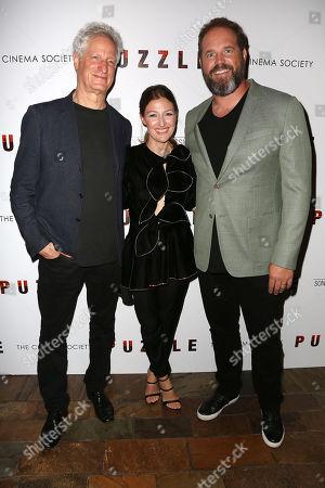 Marc Turtletaub (Director), Kelly Macdonald and David Denman