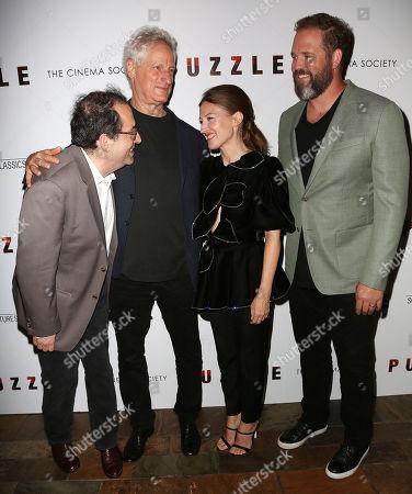 Michael Barker (President; Sony Pictures' Classics), Marc Turtletaub (Director), Kelly Macdonald and David Denman