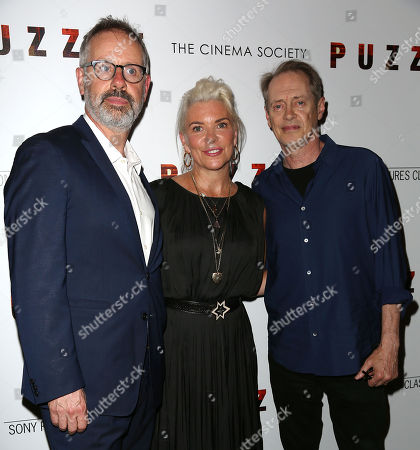 Stock Image of Peter Saraf, Wren Arthur (Producers) and Steve Buscemi