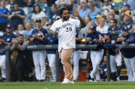 Editorial picture of MLB Nationals vs Brewers, Milwaukee, USA - 24 Jul 2018