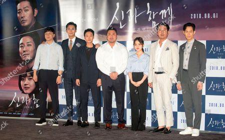 Kim Yong-hwa, Joo Ji-hoon, Kim Dong-wook, Ma Dong-seok, Kim Hyang Gi, Ha Jung-Woo and Lee Jung-Jae