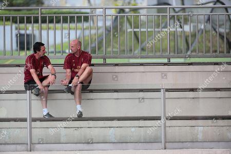Unai Emery and Steve Bould