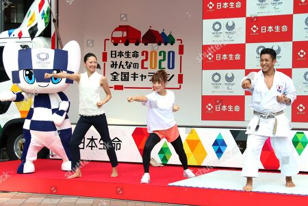 Editorial photo of Olympic Countdown Event24 Jul 2018