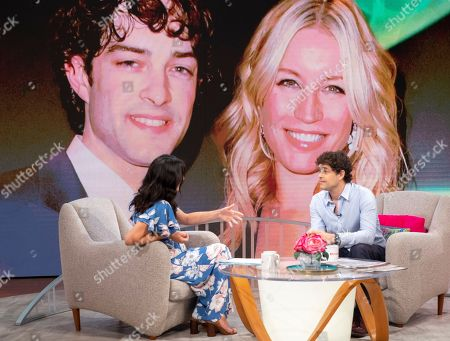 Stock Photo of Christine Lampard and Lee Mead