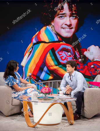 Christine Lampard and Lee Mead