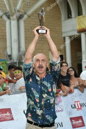 Maccio Capatonda shows the Giffoni Experience Award 2018