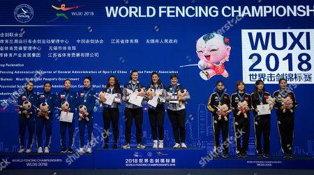 Editorial image of Fencing World Championships 2018, Wuxi, China - 25 Jul 2018