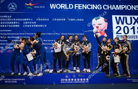 Editorial photo of Fencing World Championships 2018, Wuxi, China - 25 Jul 2018