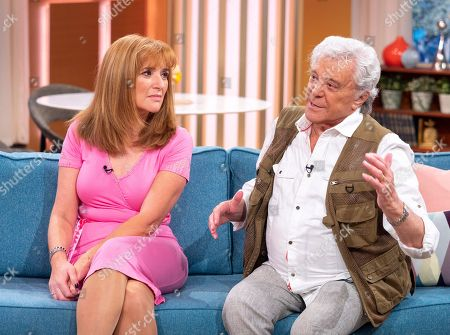 Stock Photo of Angela Epstein and Lionel Blair