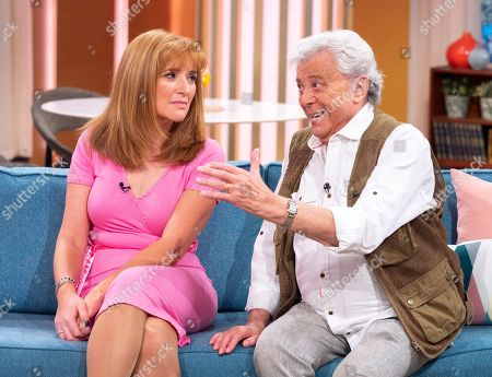 Stock Image of Angela Epstein and Lionel Blair