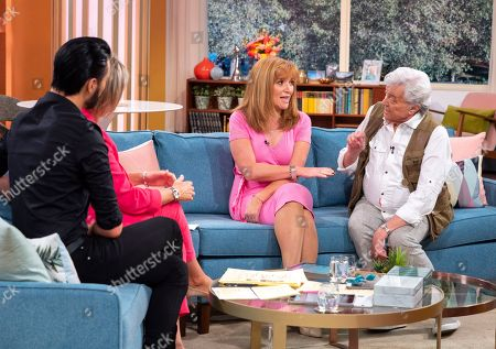 Rylan Clark, Ruth Langsford with Angela Epstein and Lionel Blair