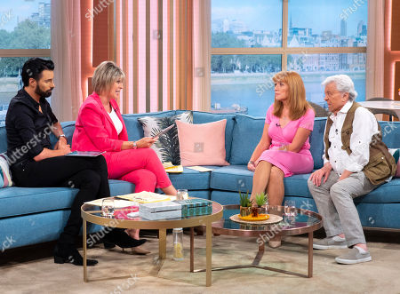 Stock Picture of Rylan Clark, Ruth Langsford with Angela Epstein and Lionel Blair