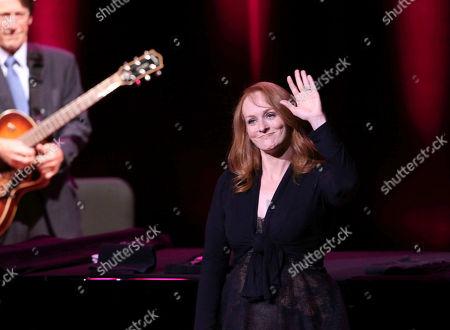 Tony Bennett's daughter, Antonia Bennett performs at Atlanta Symphony Hall, in Atlanta