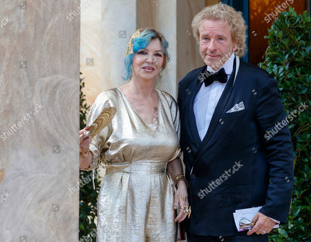 Stock Image of Thomas Gottschalk and Thea Gottschalk