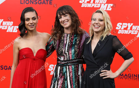 Mila Kunis, Susanna Fogel and Kate McKinnon