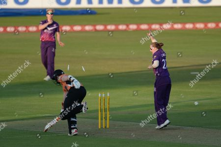 Editorial photo of Southern Vipers v Loughborough Lightning, Women's Cricket Super League - 25 Jul 2018