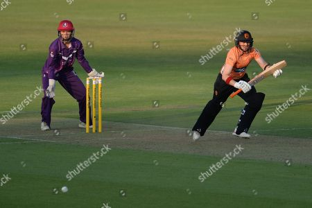 Stock Photo of Arran Brindle of Southern Vipers batting during the Women's Cricket Super League match between Southern Vipers and Loughborough Lightning at the Ageas Bowl, Southampton. Picture by Dave Vokes