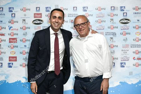 Minister of Economic Development and Job Luigi Di Maio, Director of Festival Claudio Gubitosi