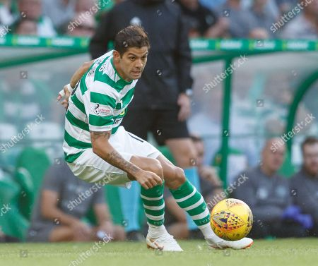 Stock Picture of Cristian Gamboa of Celtic