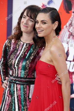 Susanna Fogel and Mila Kunis