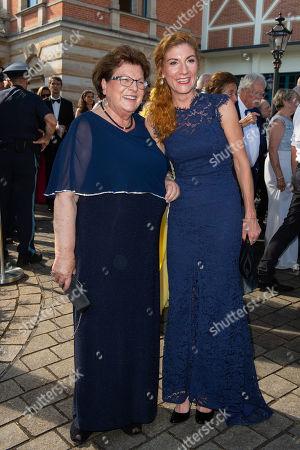Barbara Stamm and Elisabeth Sissy