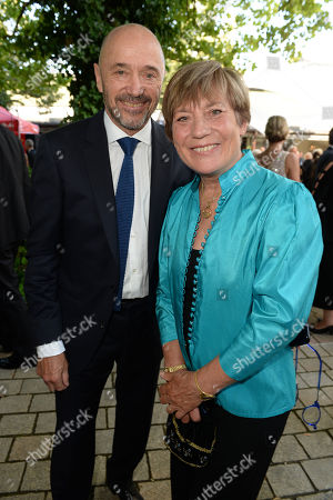 Stock Picture of Rosi Mittermaier and Mann Christian Neureuther