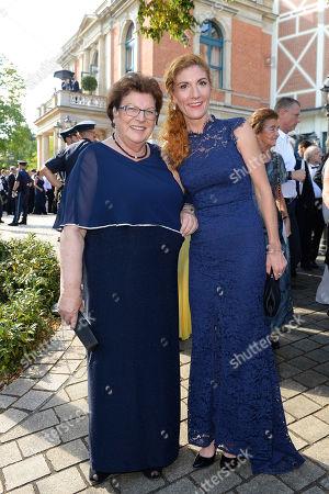 Stock Photo of Barbara Stamm and Elisabeth Sissy