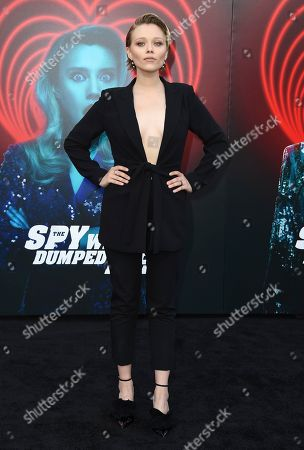 """Ivanna Sakhno arrives at the world premiere of """"The Spy Who Dumped Me"""" on in Los Angeles"""