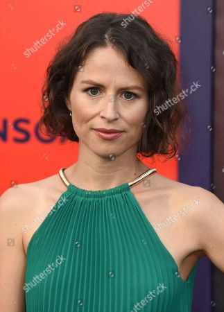 """Mirjam Novak arrives at the world premiere of """"The Spy Who Dumped Me"""" on in Los Angeles"""