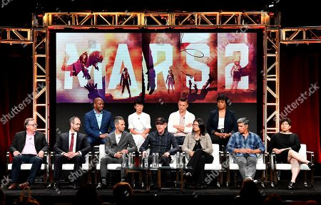 Editorial image of National Geographic 'Mars' TV show panel, TCA Summer Press Tour, Los Angeles, USA - 25 Jul 2018