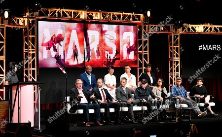 Editorial picture of National Geographic 'Mars' TV show panel, TCA Summer Press Tour, Los Angeles, USA - 25 Jul 2018