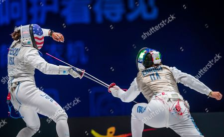Editorial photo of Fencing World Championships 2018, Wuxi, China - 26 Jul 2018