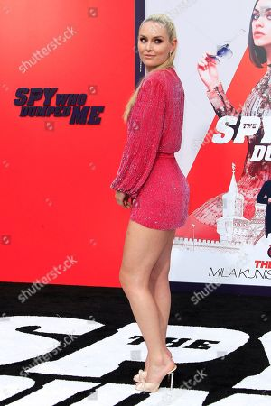 Editorial picture of The Spy Who Dumped Me film premiere in Los Angeles, USA - 25 Jul 2018